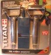 Titanová turbo škrabka