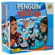 ZÁVOD tučniakov ZÁBAVNÁ VESELÁ HRA PADAJÚCE tučniaky