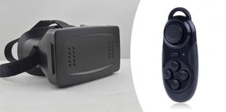 3D okuliare s ovládačom