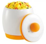 Keramický varič na vajcia do mikrovlnky