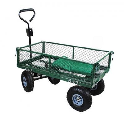 Záhradný vozík s výklopnými bokmi