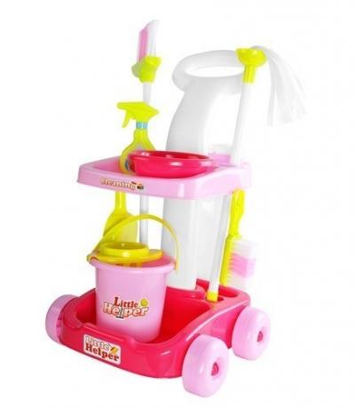 Upratovací vozík pre deti