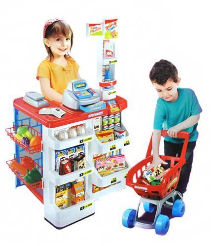 Detský veľký supermarket