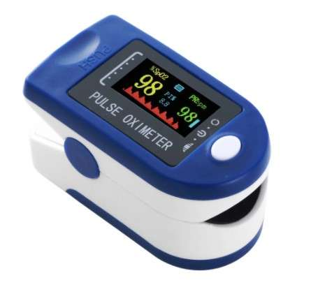 Pulzometer / prstový pulzný oxymeter - NAJprodukty.sk